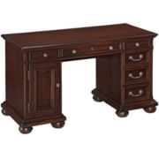 Roanoke Village Pedestal Desk