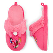 Disney Princess Slippers – Girls 2t-5t