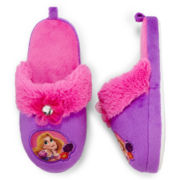 Disney Rapunzel Slippers – Girls 2t-5t