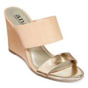 a.n.a® Ezra Wedge Sandals