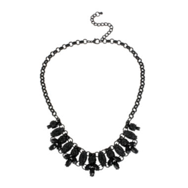 jcpenney.com | Mixit™ Black Caviar Bead Collar Necklace