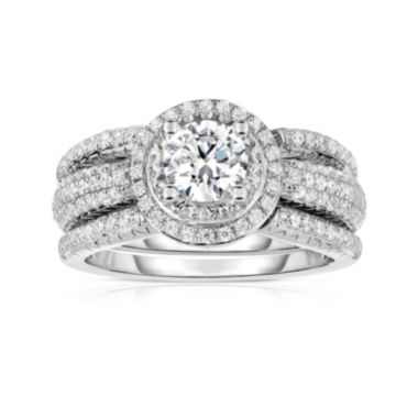 jcpenney.com | True Love, Celebrate Romance® 1¼ CT. T.W. Certified Diamond 14K White Gold Ring