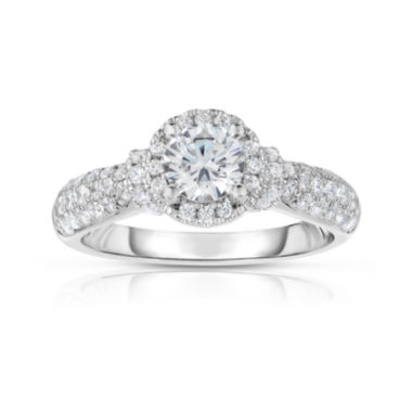 jcpenney.com | True Love, Celebrate Romance® 1½ CT. T.W. Certified Diamond 14K White Gold Ring