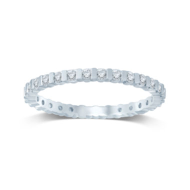 jcpenney.com | 1/2 CT. T.W. Diamond 14K White Gold Eternity Band