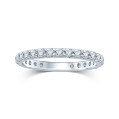 jcpenney.com | 1 CT. T.W. Diamond 14K White Gold Eternity Band