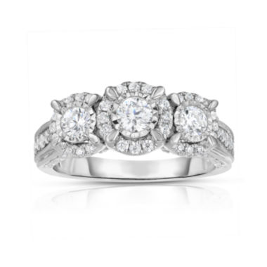jcpenney.com | Love Lives Forever™ 1 CT. T.W. Diamond 14K White Gold 3-Stone Ring