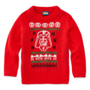 Star Wars Holiday Sweater - Toddler Boys 2t-5t