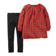 Carter's® Plaid Tunic and Leggings - Baby Girls newborn-24m