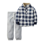 Carter's® Fleece Pullover and Pants - Toddler Boys 2t-5t