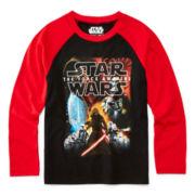 Star Wars™ Graphic Raglan Tee - Preschool Boys 4-7