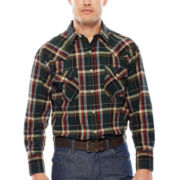 Ely Cattleman® Brawny Flannel Shirt