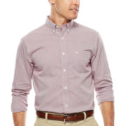 Dockers® On-the-Go Mini-Plaid Shirt