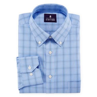 jcpenney.com | Stafford® Non-Iron Cotton Oxford Dress Shirt