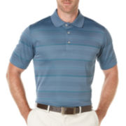 PGA TOUR® Jacquard Stripe Polo