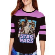 Star Wars® Episode 7 3/4-Sleeve Hockey T-Shirt