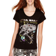"Star Wars® Episode 7 Short-Sleeve ""The Force Awakens"" T-Shirt"