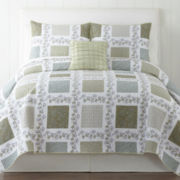 Home Expressions™ Ashdale Quilt & Accessories