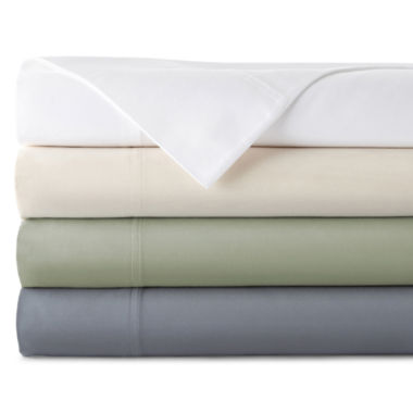 jcpenney.com | JCPenney Home™ 400tc Hygro® Cotton Sheet Set