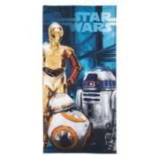 Star Wars® Droids Beach Towel
