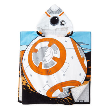 jcpenney.com | Star Wars® BB-8 Hooded Poncho Towel