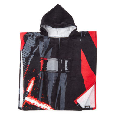 jcpenney.com | Star Wars® Kylo Ren Hooded Poncho Towel