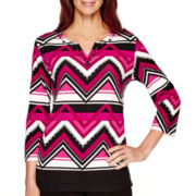 Alfred Dunner® 3/4-Sleeve Top
