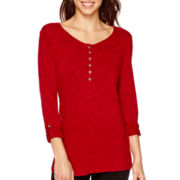 i jeans by Buffalo Long-Sleeve Button-Front Top