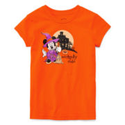 Disney Collection Minnie Halloween Tee - Girls 2-12