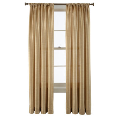 jcpenney.com | Royal Velvet® Britton Rod-Pocket Curtain Panel