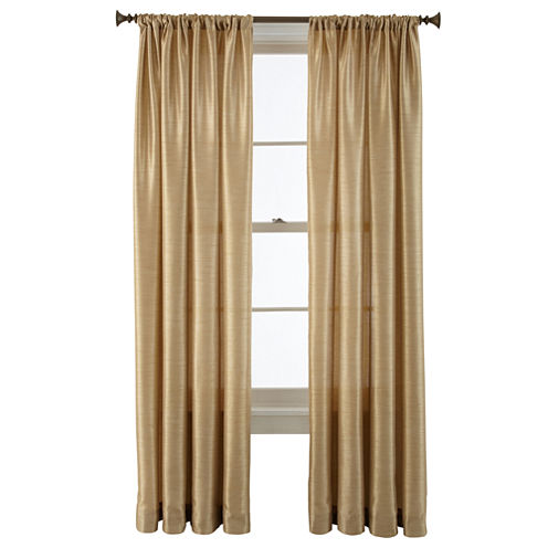 Royal Velvet® Britton Rod-Pocket Curtain Panel
