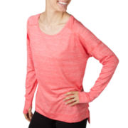 Jockey® Long-Sleeve Shimmer Jersey Tunic