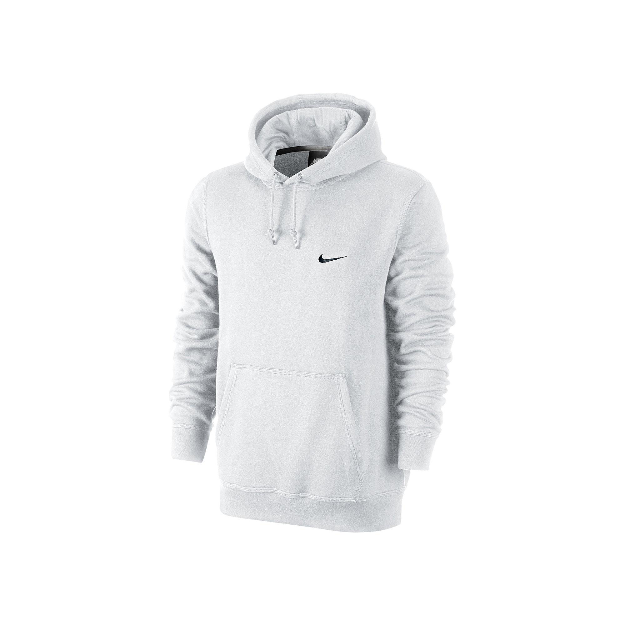f7b49c937799 UPC 884497178813 - Nike Mens Club Pull Over Hoodie White Black ...