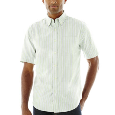 jcpenney.com | St. John's Bay® Short-Sleeve Easy-Care Oxford Shirt