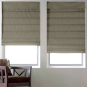 JCPenney Home™ Cotton Duck Thermal Roman Shade