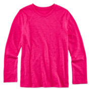 Arizona Long-Sleeve Favorite Tee - Toddler Girls 2t-5t