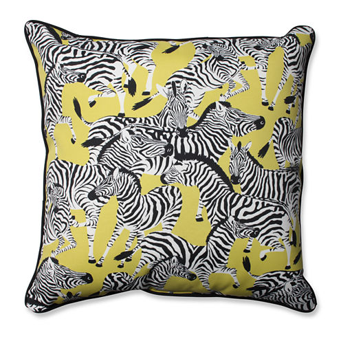 Pillow Perfect Herd Together Square Outdoor/Outdoor Floor Pillow