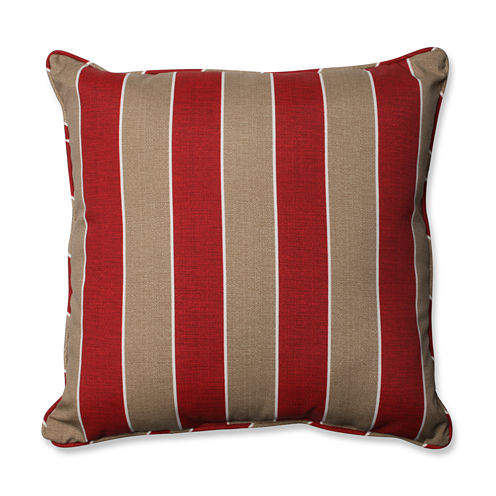 Pillow Perfect Wickenburg Square Outdoor Floor Pillow
