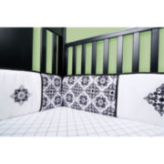 Trend Lab® Versailles Black and White Crib Bumpers