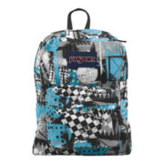 JanSport® SuperBreak Backpack-Mammoth Blue Street Scene