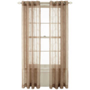 Royal Velvet® Gianna Grommet-Top Sheer Curtain Panel