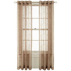Royal Velvet® Gianna Grommet-Top Sheer Curtain Panel
