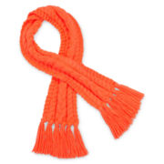 Toby Cable Knit Scarf - Girls