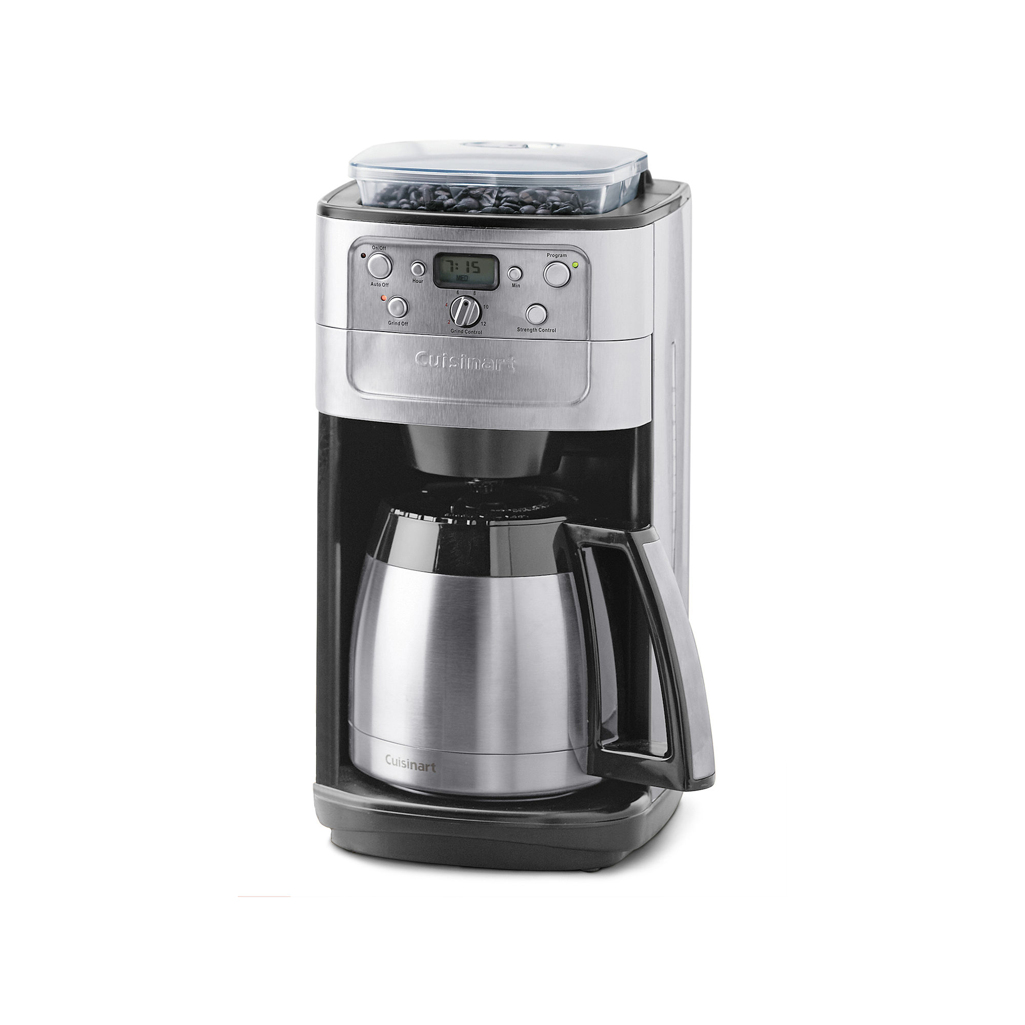 Cuisinart Coffee Maker Automatic Brew Instructions : Dgb 900bc cuisinart programmable burr grind brew with automatic burr grinder - Find it at Shopwiki