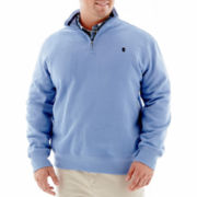 IZOD® Quarter–Zip Fleece Pullover–Big & Tall
