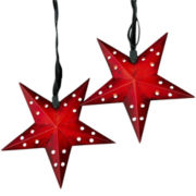 Red Star String Light Set