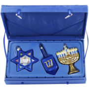 Noble Gems 3-pc. Jewish Star Set