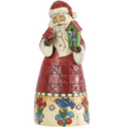 Jim Shore Heartwood Creek® Santa with Birdhouse Figurine
