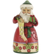 Jim Shore Heartwood Creek® Santa with Stocking Figurine