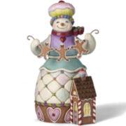 Jim Shore Heartwood Creek® Sweets Snowman Figurine
