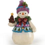 Jim Shore Heartwood Creek® Pint-Sized Snowman Figurine